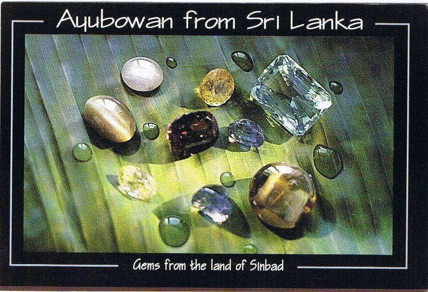 Ayubowan from Sri Lanka Gems from the land  of Sinbad